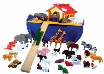 Noah's Ark Large with 48 Animals