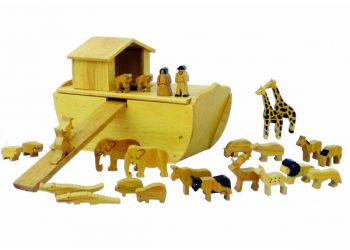 Noah's Ark Wood with 24 Animals