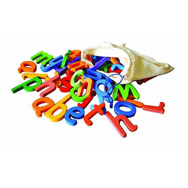 52 Lower Case Letters in bag